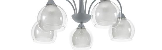 żyrandole szklane nowoczesne