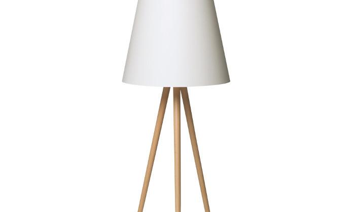 lampy podłogowe drewniane
